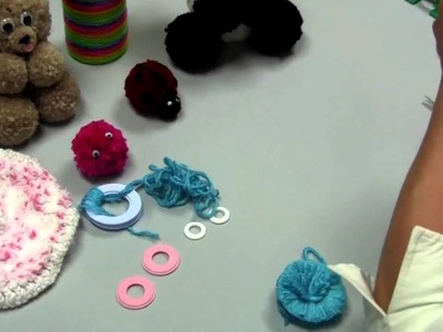 Learn how to make Pom-Poms with Red Heart Yarns