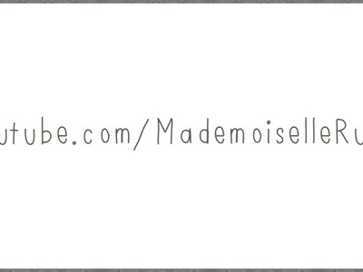 Mademoiselle Ruta Channel Trailer | Fashion, Beauty, DIY, Lifestyle