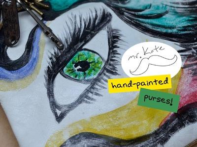 Mr. Kate DIY Painted Purse Tutorial