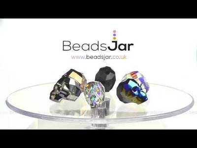 New! Swarovski 5750 Crystal Skulls now in stock at Beads Jar.