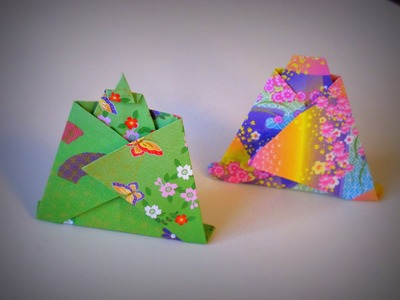 Origami - How to make Kimono Dolls (boy and girl)