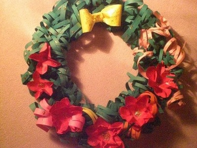 Paper Craft.WREATH