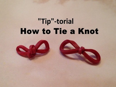 Rainbow Loom TIP-turial, How to TIE A KNOT Tutorial by Crafty Ladybug. Wonder Loom, DIY LOOM