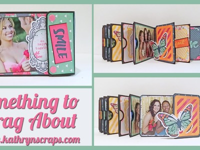 Scrapbook Mini Album: Something to Brag About