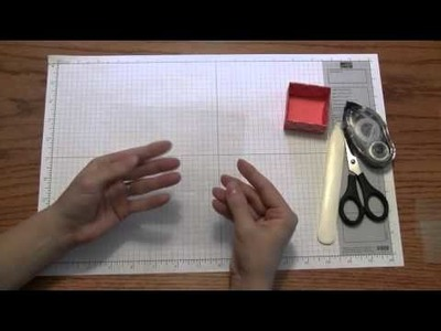 Stamping and Paper Crafts: Favor Box Tutorial by Stampin Up 2010 Artisan Winner Renee Ballard