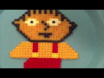Stewie From Family Guy Perler Hama Iron On Beads