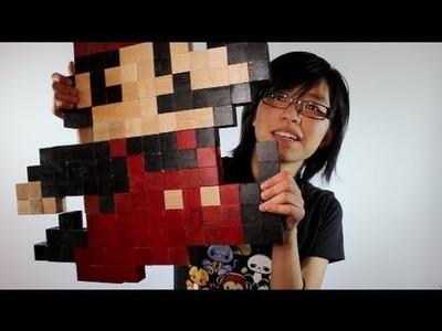 Super Mario Wall Art [DIY GG Inspired]