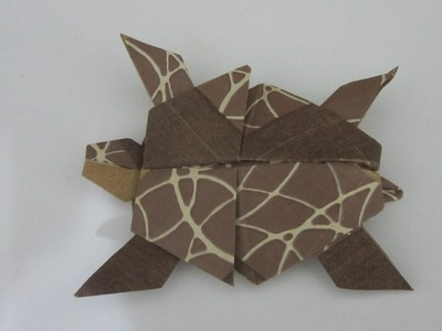 TUTORIAL : HOW TO MAKE A ORIGAMI TURTLE (Creator: Steven Casey)