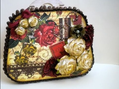 Vintage Purse Swap - Hosted by Bona - Scrapbooking