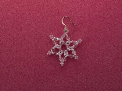 Bead A Snowflake Earring Video, Stop Action