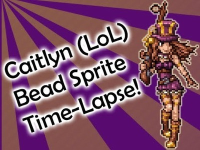 Caitlyn - League of Legends Bead Sprite Time-Lapse