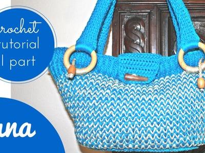 """Crochet """"Chameleon"""" summer bag I"""