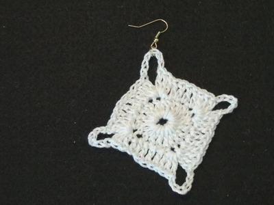 CROCHET EARRING IRENE Crochet Geek