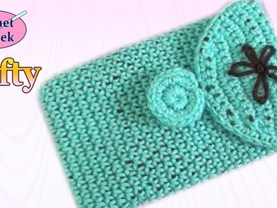 Crochet Tablet Cover Left Hand Crochet Geek Video
