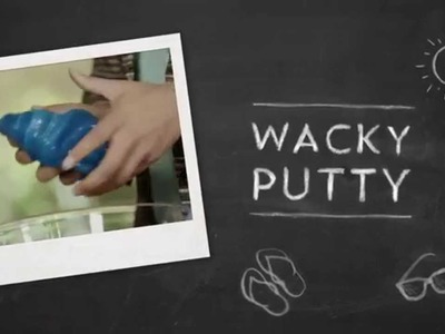 DIY Crafts: Make Wacky Putty using Sta-Flo Starch