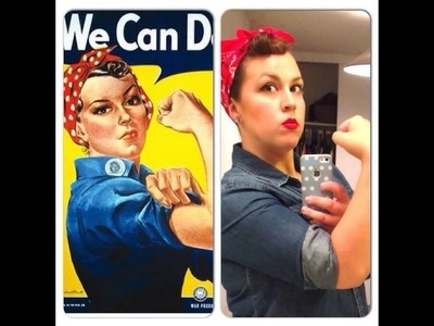 DIY: Halloween Costume- Rosie the Riveter