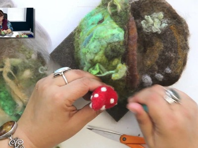 DIY: How to Create a Needle Felted Gnome Home