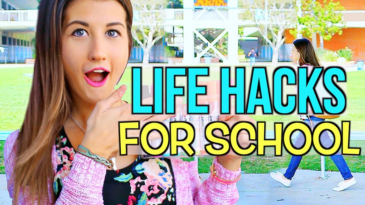 DIY Life Hacks For School!