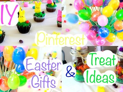 DIY Pinterest Inspired Easter Gifts & Treat Ideas !
