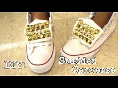 ✄ DIY | Studded Converse