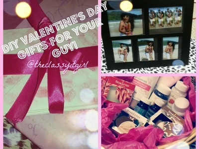 DIY Valentine's Day Gifts for your Guy-Part 2!
