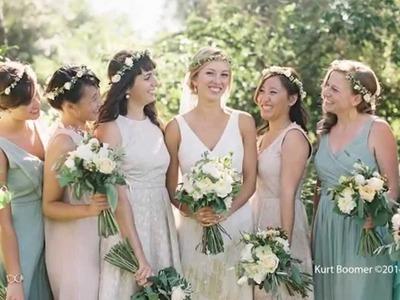 DIY Wedding Flowers | Sunset