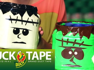 Duck Tape Crafts: How to Make a Halloween Candy Bucket