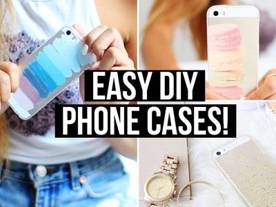 Easy & Affordable DIY Phone Cases! | LaurDIY