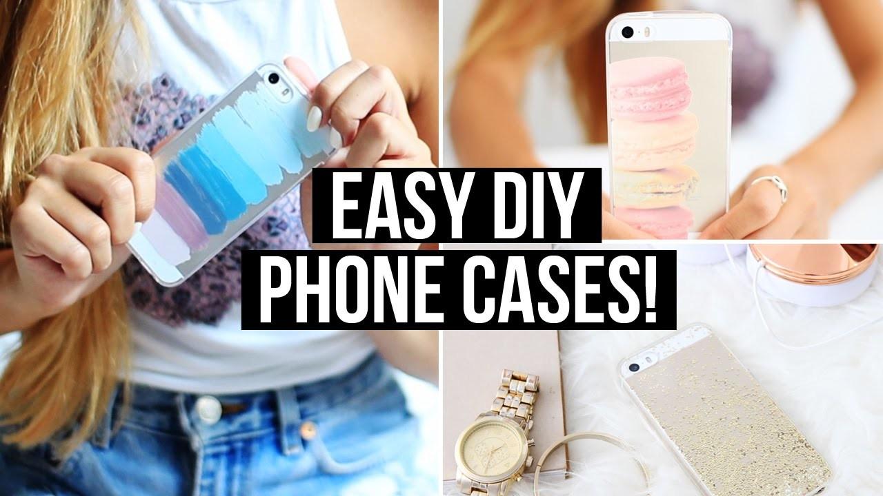 Easy & Affordable DIY Phone Cases!   LaurDIY