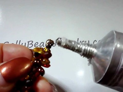 How to add a Crimp End to Kumihimo braid