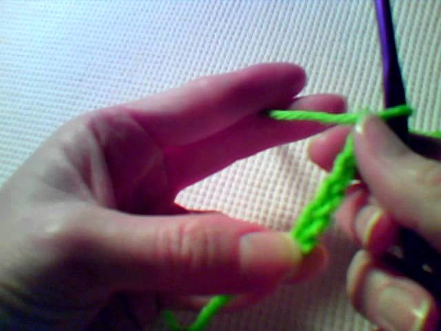 How to Crochet - Join with a slip stitch to form a ring.