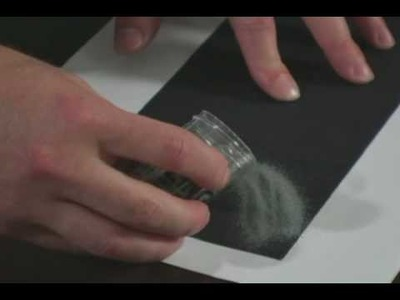 How To Emboss Using Zap Heat Tool