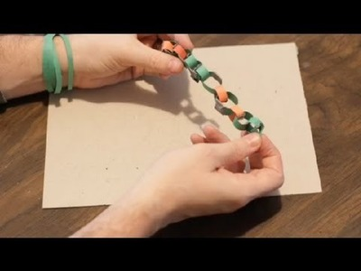 How to Make a Bracelet of Paper : Paper Crafts