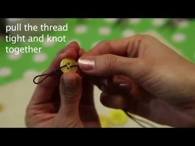 How to make a Button Necklace