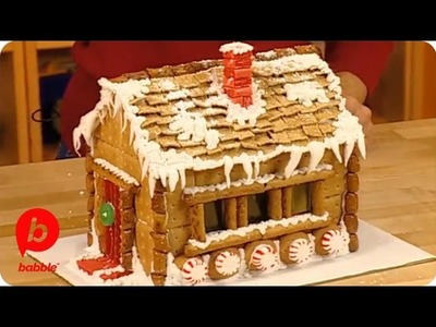 How to Make a Gingerbread House - Graham Cracker Sugar Chalet | Food & Cooking | Babble