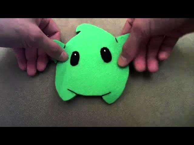 How to make a Mario Galaxy Luma plush tutorial