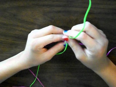 How to Make a Round.Spiral Boondoggle another way! ll The Richmond01