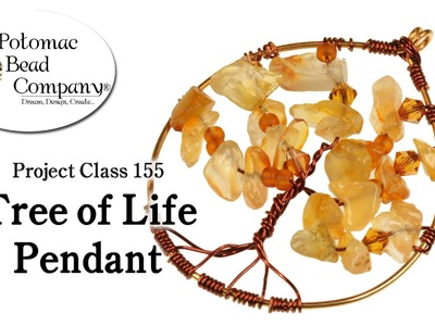 How to Make a Tree of Life Pendant (Project Class 155)