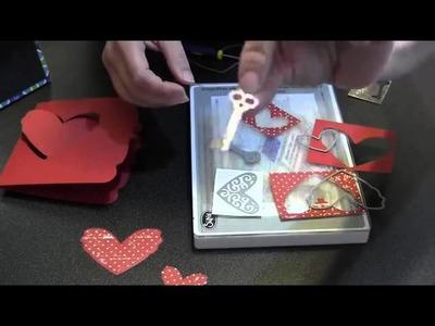 Karen Burniston Pivot Card Dies for Elizabeth Craft Designs