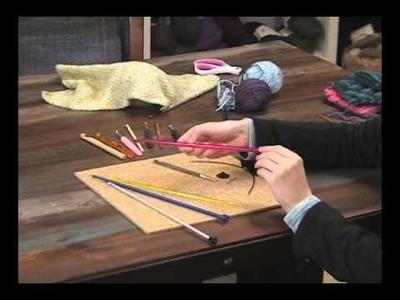 Knitter's Pride Afghan. Tunisian Crochet Hooks Review