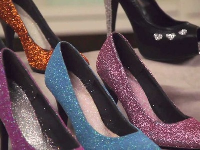Learn with Jo-Ann: How to Embellish Shoes with Glitter, Paint & Rhinestones