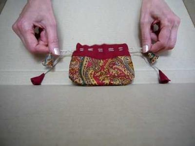 Little magic Tibetan pouch