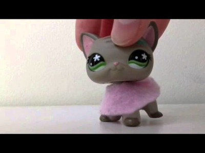 Lps DIY:  How to make an Lps sweater.jacket (no sew)
