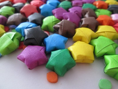 Lucky Star Tutorial - Estrella de origami decorativa ✡