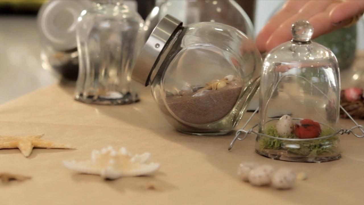 Make a Mini Terrarium - Let's Craft with ModernMom