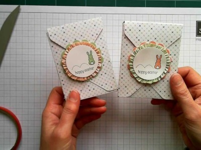 Make Any Size Box Using Your Stampin' Up! Envelope Punch Board: Hoppy Easter Treat Box