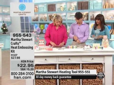 Martha Stewart Crafts Heat Embossing Kit