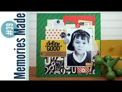 Memories Made #39 Scrapbooking Process Video: Define Good