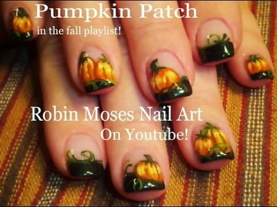 Nail Art Tutorial | DIY Easy Nails | Thanksgiving Pumpkin Design