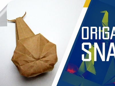 Origami - How To Make An Origami Snail